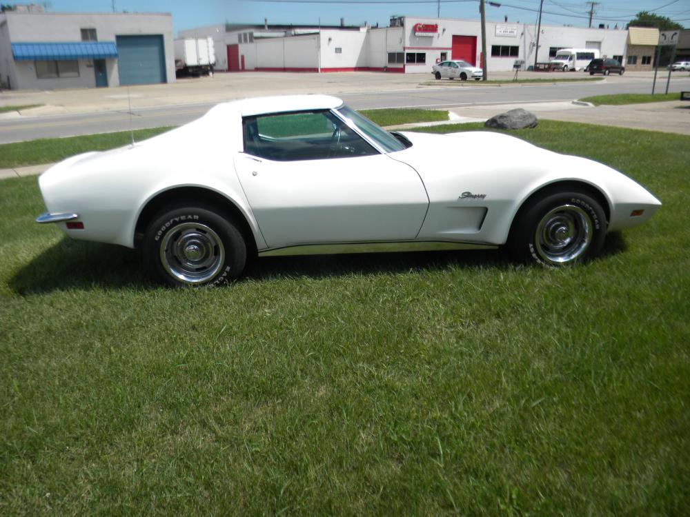 1973 Corvette Coupe White