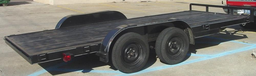Trailers, New, Used, Open, Enclosed, 1, 2, 3 Axle, Examples of What We Offer