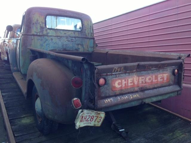 1949 Chevrolet 3/4 Ton Truck Long Bed (Rat Rod Project Vehicle)