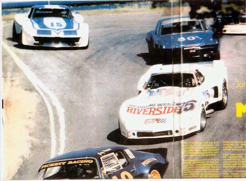 Kaufman Greenwood Road Racing Corvette