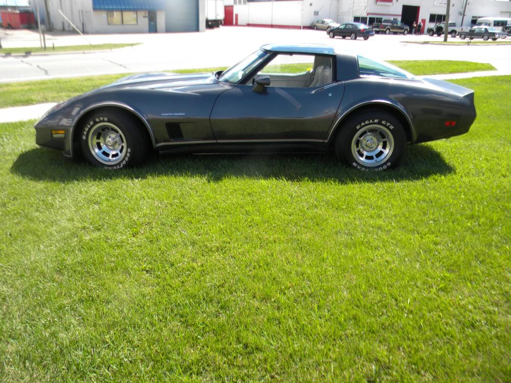 1982 Corvette Coupe with Glass Tops, Needs Minor Repairs