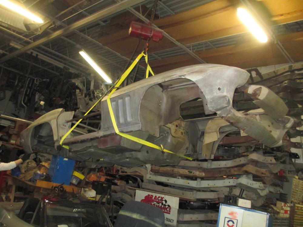 1965 Corvette Convertible Project Car, Good for Tube Chassis Car or Big Block