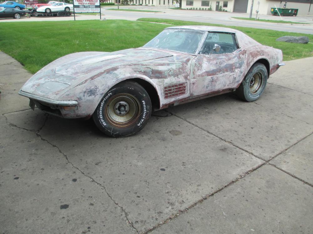 1971 Corvette Coupe 350 Auto Loaded