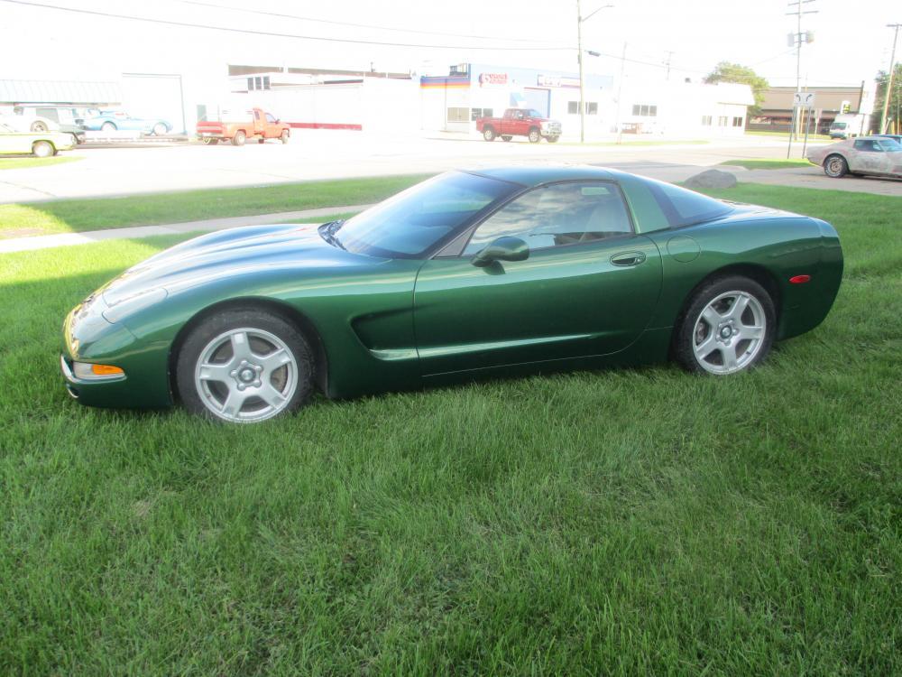1997 Corvette Fairway Green Metallic Six Speed Coupe w/Low Miles