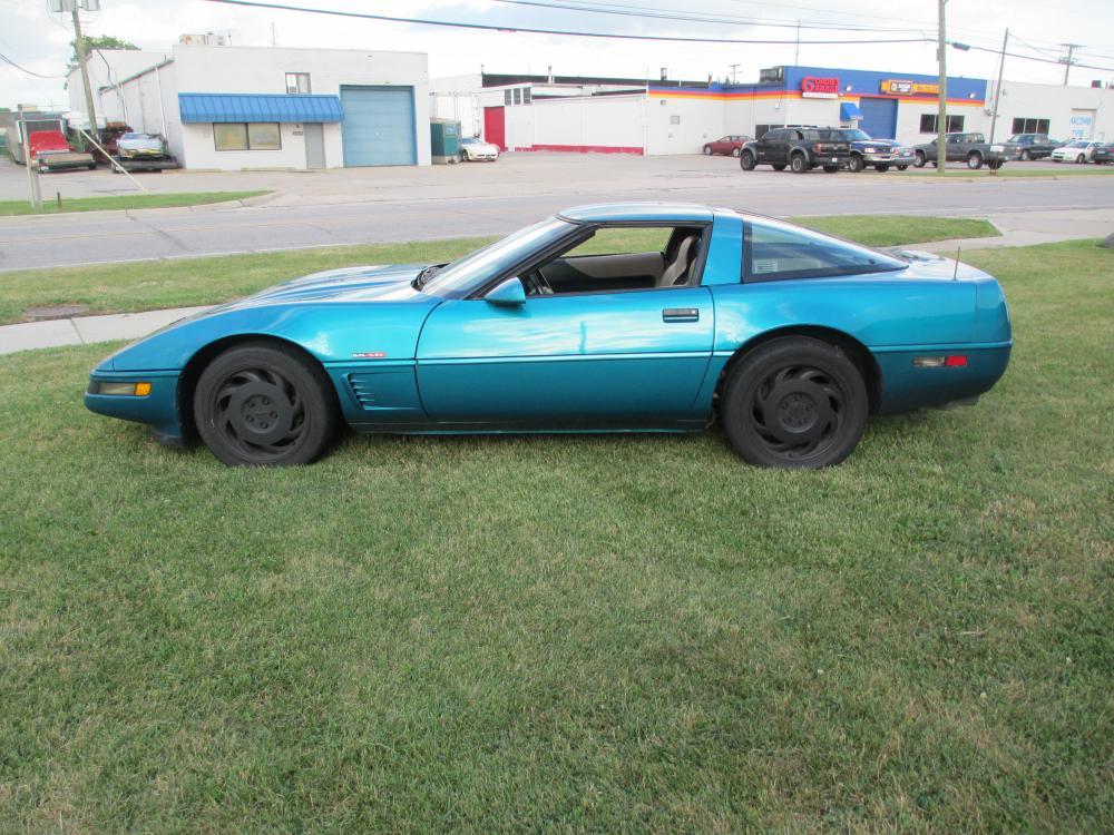 1995 Corvette Coupe Auto Turquoise