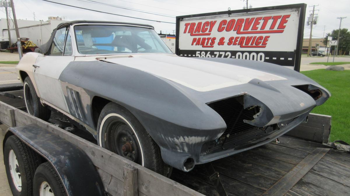 Corvette For Sale - 1965 Corvette Convertible Body for