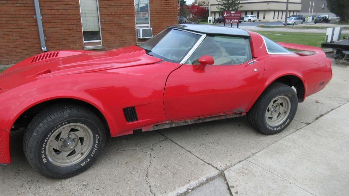1978 Corvette Coupe Custom Project Car Less Engine & Transmission