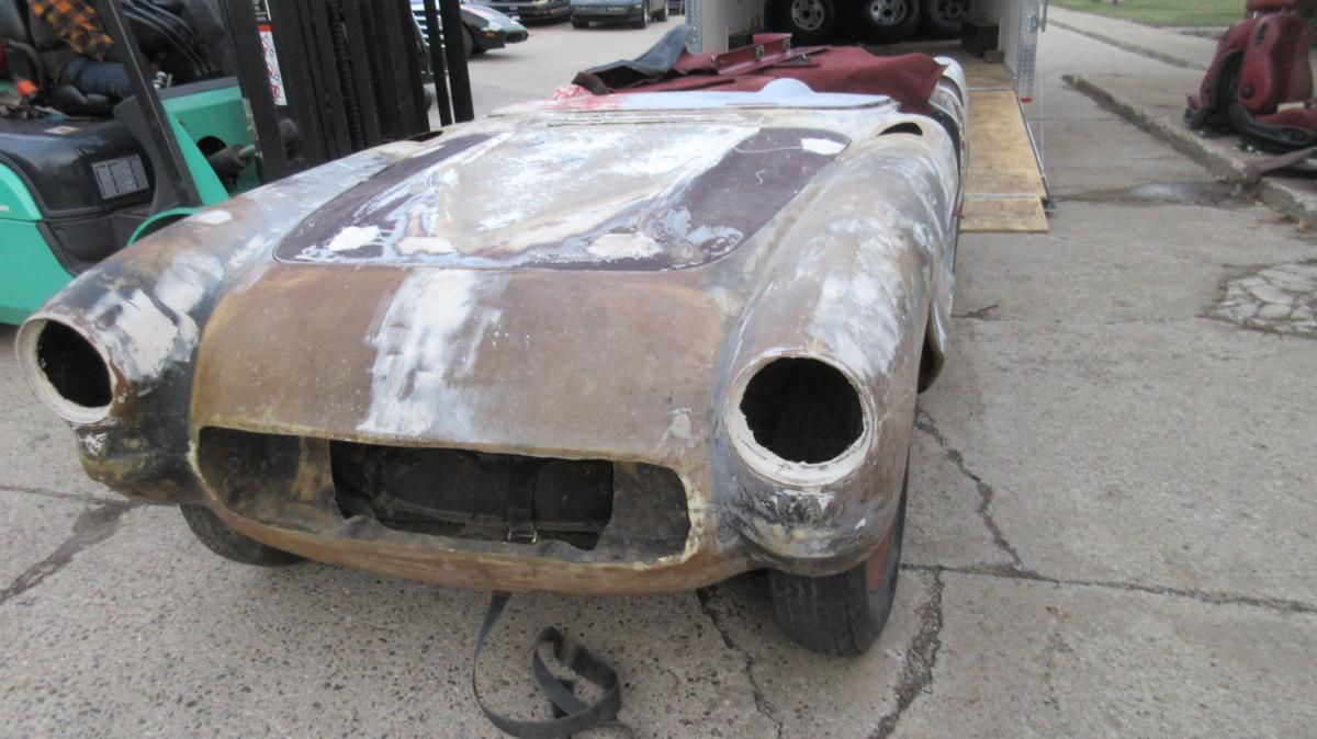 1957 Corvette Convertible Project Car 283/230 HP Powerglide
