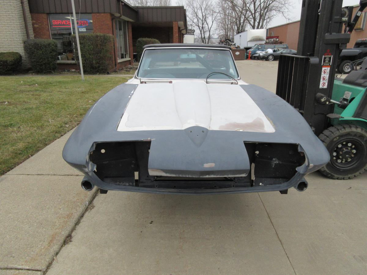 1965 Corvette Convertible Body for Restomod Project or Whatever