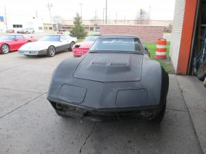 1969 Corvette Convertible Project Car w/Hardtop, BB Hood less Engine, Trans, Etc