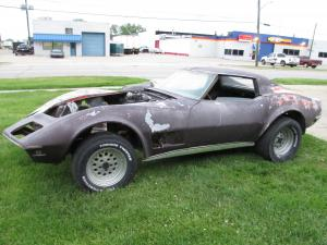 1970 Corvette Coupe 4 Speed Project Car, Body Shell and Chassis Only, All or Parts