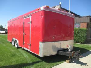 2006 Interstate Enclosed Tandem Axle 20' Trailer w/Ramp Door