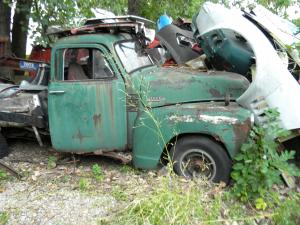 1953 Chevy Pickup 5 Window One Ton Flatbed, (Rat Rod Project Vehicle)