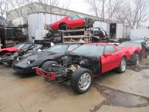 1984-1996 Corvette Coupe C4 Parts Cars