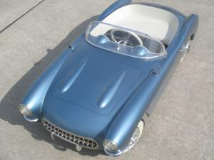 Collectible 1956-1957 Corvette Convertible Pedal Car