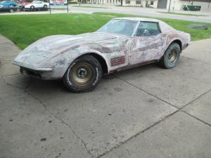 1971 Corvette Coupe 350 Auto Loaded