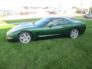 1997 Corvette Coupe Fairway Green Metallic Six Speed Coupe w/Low Miles