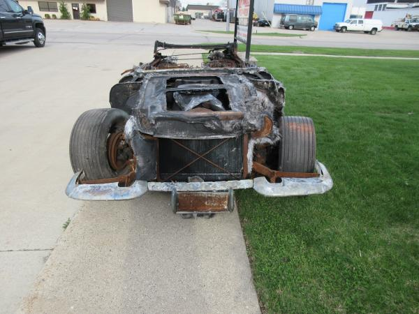 1958 Corvette Convertible 283/230 Powerglide Burn Car Project or Parts Car
