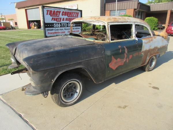 1955 Chevy 210 2 Door Post Project for Restoration, Restomod, Rat Rod, Pro Street etc.