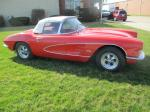 1961 Corvette Convertible with 350 4 Speed Rebuilt Engine, Transmission, Chassis, Carpet, Etc. Image 12