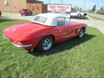 1961 Corvette Convertible with 350 4 Speed Rebuilt Engine, Transmission, Chassis, Carpet, Etc. Image 2