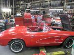 1961 Corvette Convertible with 350 4 Speed Rebuilt Engine, Transmission, Chassis, Carpet, Etc. Image 192