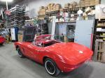 1961 Corvette Convertible with 350 4 Speed Rebuilt Engine, Transmission, Chassis, Carpet, Etc. Image 193