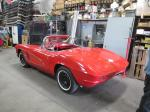 1961 Corvette Convertible with 350 4 Speed Rebuilt Engine, Transmission, Chassis, Carpet, Etc. Image 194