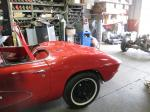 1961 Corvette Convertible with 350 4 Speed Rebuilt Engine, Transmission, Chassis, Carpet, Etc. Image 196