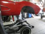 1961 Corvette Convertible with 350 4 Speed Rebuilt Engine, Transmission, Chassis, Carpet, Etc. Image 224